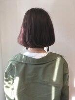シアン ヘア デザイン(cyan hair design)【cyan】ボブ×トワイライトピンク