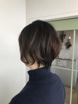 ヘアー スペース オフ(Hair Space Off)ショートボブ