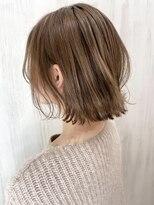 ソース ヘア アトリエ 京橋(Source hair atelier)【SOURCE】モカベージュ