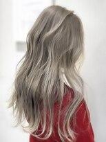 オーブ ヘアー カルネ 松戸店(AUBE HAIR carnet)【AUBE HAIR】ホワイティベージュ_ウェーブパーマ