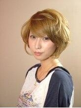クー オブザヘアー 小倉魚町店(Q OO. OF THE HAIR)伸ばし中ボブ