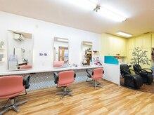 美容室ママハウスの雰囲気(店内はセット面が3席あります。)