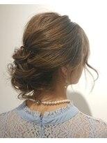 ヘアーリゾートラシックアールプラス(hair resort lachiq R+)《R+》ヘアアレンジ☆アップスタイルロングの方向け