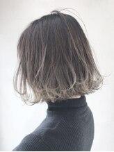 アイティーバイアルバム 藤沢店(IT by ALBUM)裾グラデーションボブ_マッシュショート_ba120261