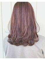 ヘアーサロン リアン 熊谷2号店(hair salon Rien)#ピンク#ゆるふわ