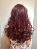 ヘアサロン ドット トウキョウ カラー 町田店(hair salon dot. tokyo color)【rose pink】ダブルカラーカラーリスト田中