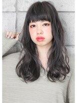 ヘアサロン ガリカ 表参道(hair salon Gallica)☆ プラチナグレージュ & 外国人風ウェーブ ☆ semi-long☆