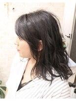 暗髪☆ブルージュカラー