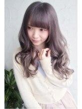 メルティー ヘア(Melty hair)プラチナxグレージュ☆グラデーション