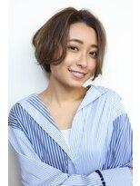 ヘアーメイク リアン 新田辺店(Hair Make REAN)◆REAN 京田辺/新田辺◆ベージュカラーのボブショートスタイル