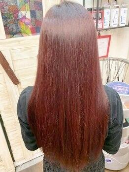 ヘアーメイク デコ トウキョウ 大島店(hair make Deco. Tokyo)の写真/【極上サラツヤの贅沢トリートメント+カット¥2990☆】美容メーカー直営だからこそできる低価格◎