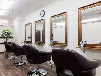 イノセントヘアー(Innocent hair)の写真/【名駅】4席のみの隠れ家サロン。ハイキャリアStylistがマンツーマンでお客様の綺麗を丁寧にお手伝い♪