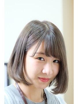 ガーデン ヘアー ワーク(garden hair work)ネイビーアッシュbob