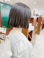 キアラ(Kchiara)暗髪でも可愛いフレアボブ【福岡大名Kchiara瀧本】