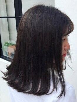 メレットバイホーム(Meret by Home)の写真/いつものヘアカラーがピリピリする・ダメージが気になる方◎髪を傷めず染めれる天然ヘアカラーを体験して☆