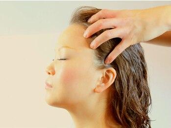 ヘアーデザイン キズナ(HAIR DESIGN Kizuna)の写真/【Kizuna1番人気!】《リピーター続出!》Kizuna「独自の技法」で美髪に導く。キレイな髪はまず頭皮から!