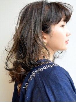 セリオイナグマ(serio inaguma)の写真/モチが良いのには理由がある!!《serio inaguma》の似合わせカット¥5400。あなたに合わせた特別なカットを☆