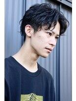 メンズヘアースパイス ユメサキ(Men's Hair SPICE -yumesaki-)ゆるスパイラルセンターパート