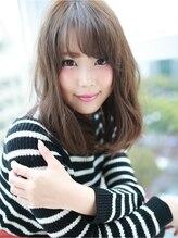 アグ ヘアー アルバ 長町店(Agu hair alb)☆ふんわりセミロング☆