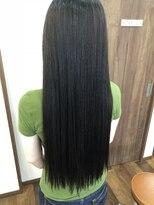 ヘアー チクタク(Hair Ciku-taku)艶ストレート×スーパーロング