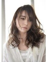 美容室 アモール(amor)透明感のあるイルミナカラーで透け感のあるロングヘアー