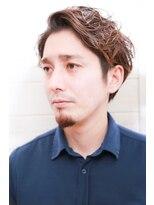 [OCEAN Hair&Life]ツーブロックショート☆カーキ☆