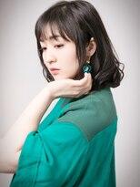 ヘアーアンドメイク エイダ(hair&make eida)髪質改善ふんわりミディアムボブ 20代30代