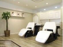 美容室 アヴァンセ(AVANCER)の雰囲気(ゆったりできるシャンプー台。落ち着ける、癒しのBGM…)