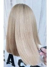 ルフル(LFL)【LFL】ブリーチ毛に髪質改善ストレート