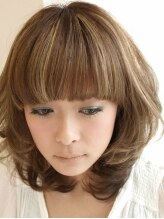 ブレイス ヘアデザイン(BRACE HairDesign)ワイドバングカール