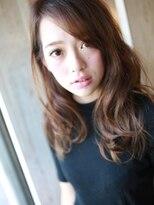 ☆大きめカールのセミディスタイル☆