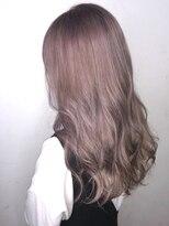ソース ヘア アトリエ 京橋(Source hair atelier)【SOURCE】ピンクグレージュ
