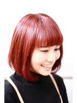 マルカ(marca)【marca】マルサラカラーで美髪クラシカルミディ♪ 担当:三上