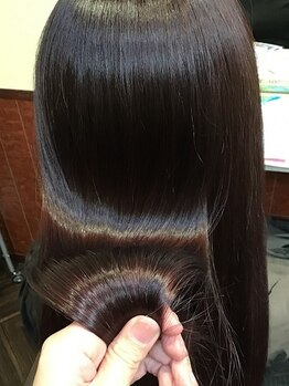 """アマラ 立川(amara)の写真/髪質改善!!オトナ女子におすすめのサロン""""amara 立川""""一人ひとりにあったTrメニューをご提案します◎"""