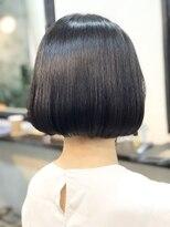 エトネ ヘアーサロン 仙台駅前(eTONe hair salon)20代.30代にオススメのミニボブ
