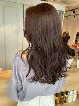 ラボバイシェノン 茶屋町店(LAB.by CHAINON)くびれスタイルでイメチェン×似合わせ前髪×ラベンダーカラー