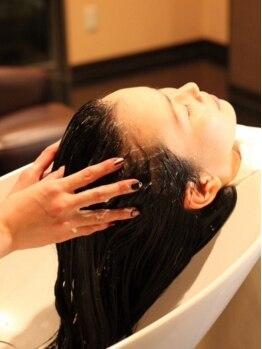 ヘアーミックス ニット(hair mix nitt)の写真/バリ伝統の≪至福の時間≫オーガニックヘッドスパ♪じっくり癒される時間を体験できるオススメのメニュー★