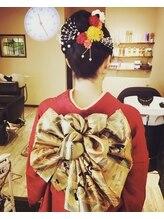 ヘアデザイン シェリ(hair design CHERI)結婚式、成人式、卒業、入学ヘアセット&着付