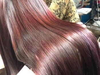 ヘアーメイク デコ トウキョウ 大島店(hair make Deco. Tokyo)の写真/美容メーカー直営だから、この価格!!リペア認定を受けたスタイリストによる施術で好みの質感に仕上げます★