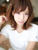 アグ ヘアー ナイン 東三国店(Agu hair nine)ひし形シルエット☆カジュアルミディ