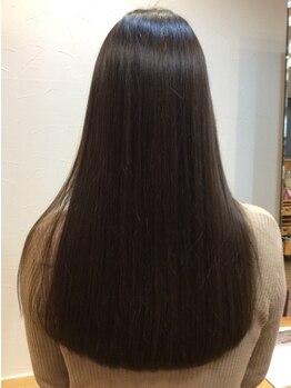 セドゥヌーヴォ(C'est du Nouveau)の写真/【桜山】痛んだ髪に癒しとご褒美を!『水素トリートメント』で毛先までしっかり丁寧にケア!うるツヤ髪に♪