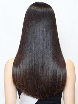 ネックス(nex)の写真/話題のケラチントリートメントが貴方の髪に艶と潤いをお届け♪パサつきのないなめらかな指通りを[表参道]