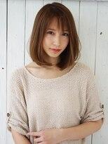 アグ ヘアー リノ 大名店(Agu hair reno)前髪×Aライン大人ロブ