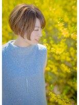 オゥルージュミュゼ(Aurouge)【aurouge musee 林碧】大人可愛い前下がりショートボブ☆