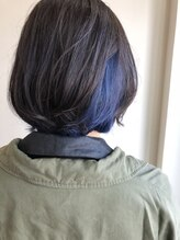 ヘア スペース メロウ(hair_mellow)インナーブルー