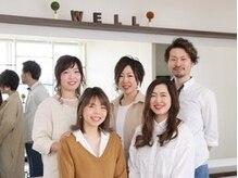 ウェルヘアー(Wellhair)の雰囲気(私たちスタッフが笑顔でお迎えします!)