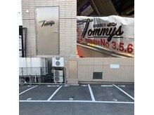 バーバートミーズ(BARBER Tommy's)の雰囲気(お車でお越しの際は、建物裏手駐車場3.5.6番をお使い下さい。)