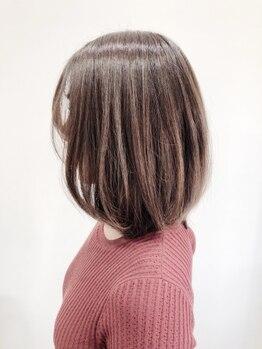 ラポール(Rappor)の写真/【豊四季駅0分/駐車場有】年齢を重ねることで変化する髪にも艶と潤いを◎大人女性に人気のサロン【RAPPOR】