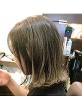 グリームス ヘアデザイン(GLEAMS Hair Design)外ハネぱっつんボブ★チーフ山本