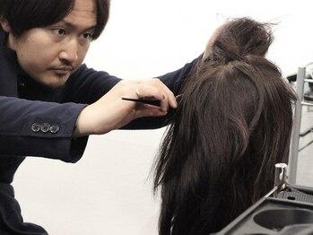 ライチ ファーストクラス(Litchi first class)の写真/毎月不安なカラーによる負担。Litchiでは染める度に素髪が好きになっていく、そんな不思議な体験ができる。